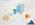 Serie DEM 4 - 21 x 30 cm - Aquarell, Kreide, Folie auf Karton - 2019
